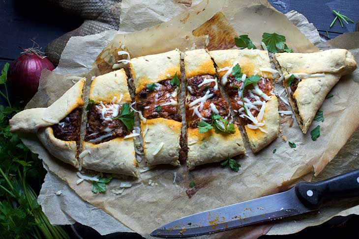 vegan turkish pide