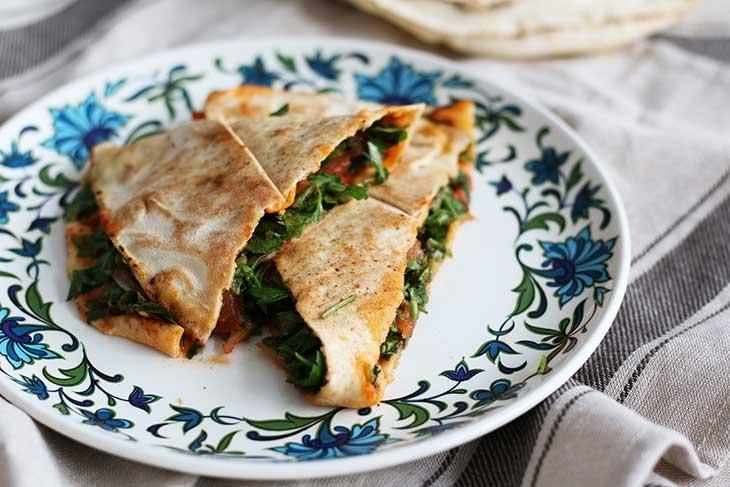vegetarian arayes reteta grilled pita sandwiches