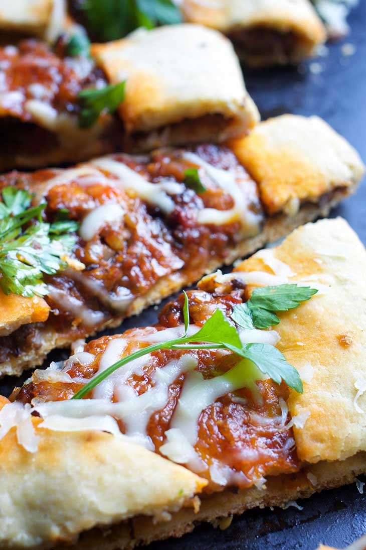 vegetarian turkish pide