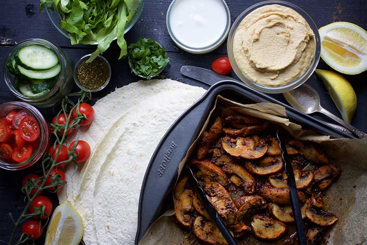 vegan Shawarma recipe