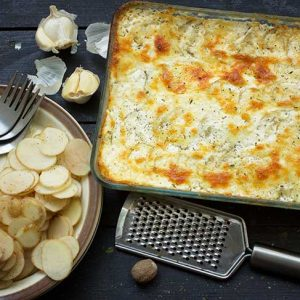 Vegan Scalloped Potatoes Pommes Dauphinoise cartofi frantuzesti