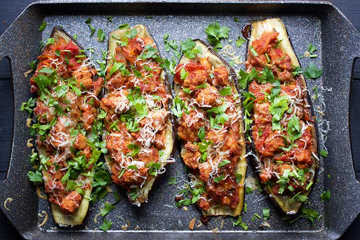imam bayildi turkish stuffed eggplants vinete turcesti umplute