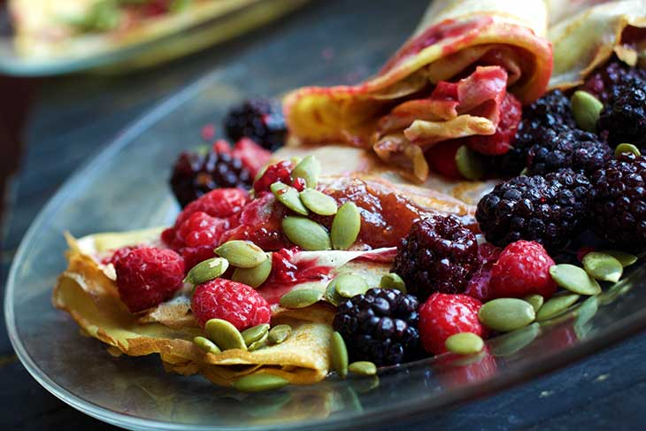 easy vegan crepes recipes