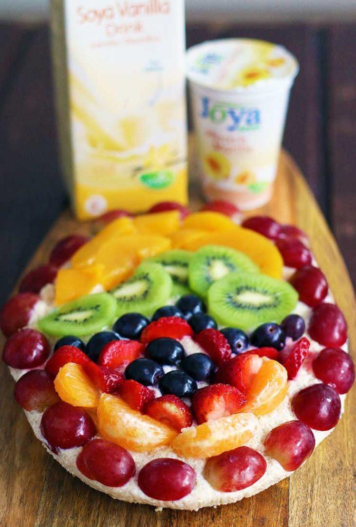 vegan easter tart fruit tart tarta cu fructe de paste