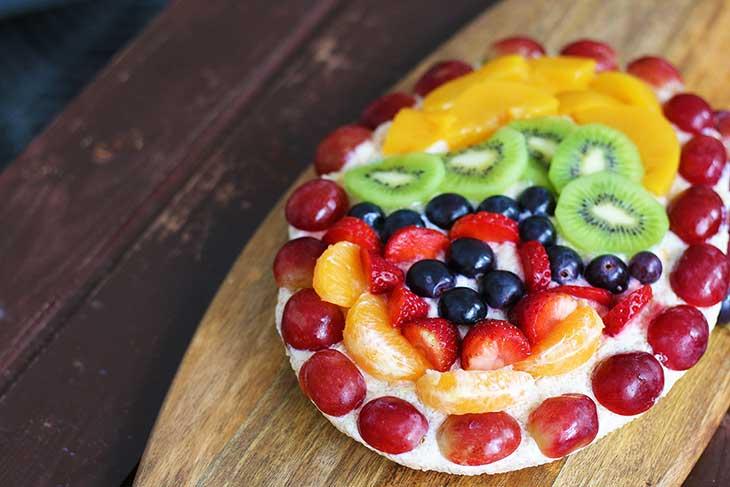 vegan easter tart tarta cu fructe de pasti reteta
