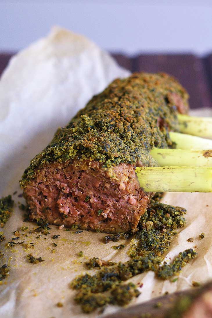 vegan rack of lamb recipe