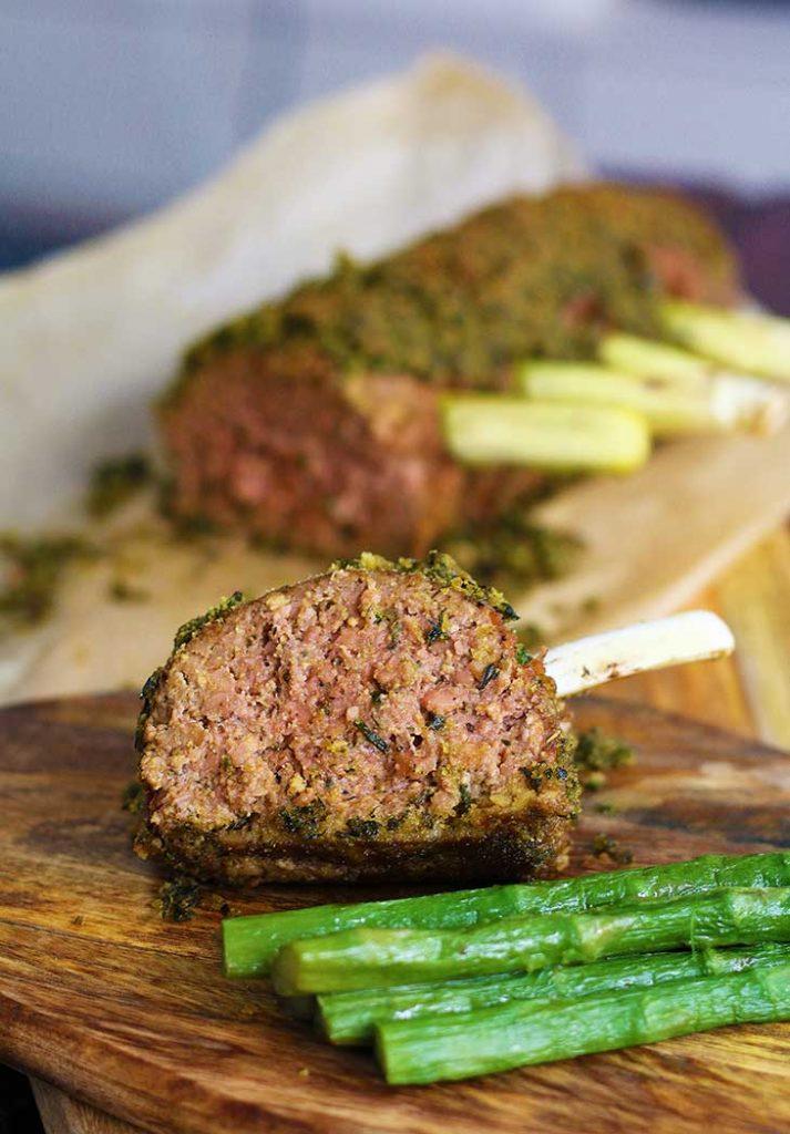 vegan lamb rack
