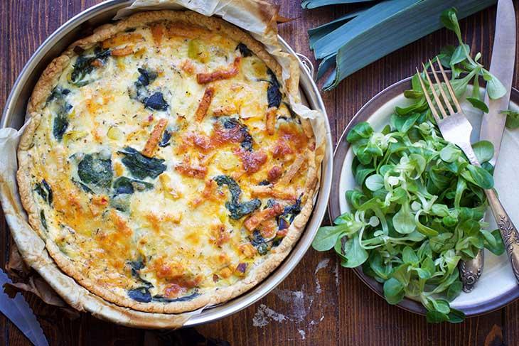 vegan quiche lorraine french cuisine
