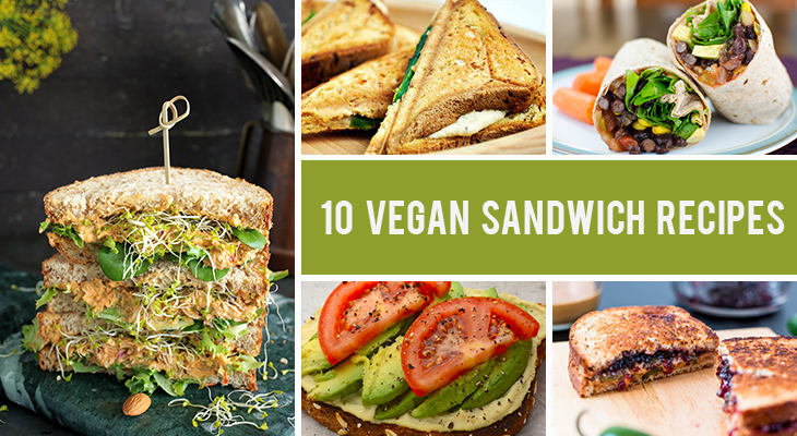10 Drool-Worthy Vegan Sandwich Recipes Ready In Less Than 15 Minutes
