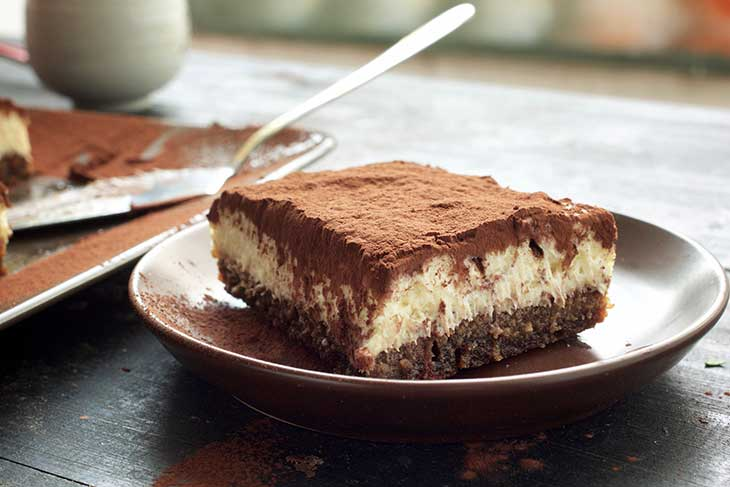 healthy vegan tiramisu de post