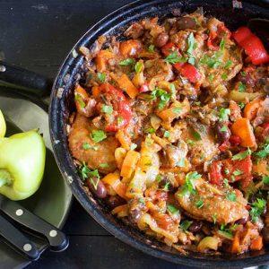 vegetarian cacciatore recipe