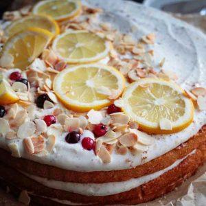 italian lemon olive oil cake tort cu lamaie si ulei de masline