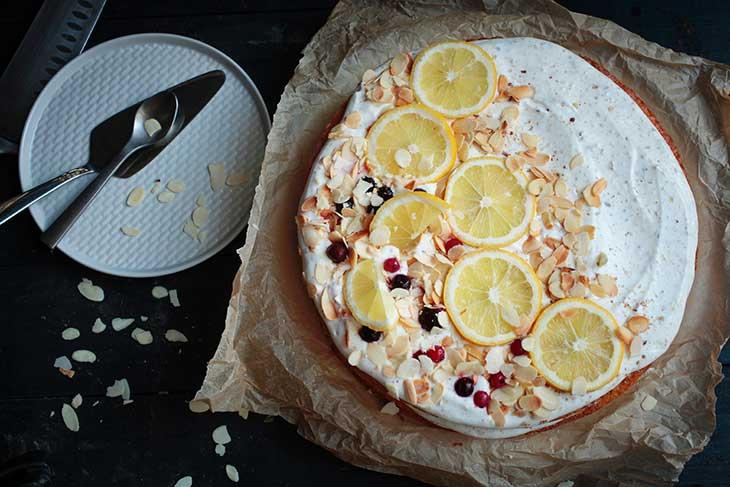 lemon olive oil cake tort cu lamaie si ulei de masline