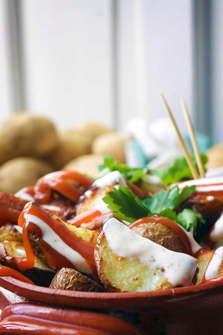 patatas bravas spanish potatoes recipe