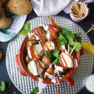 vegan patatas bravas recipe