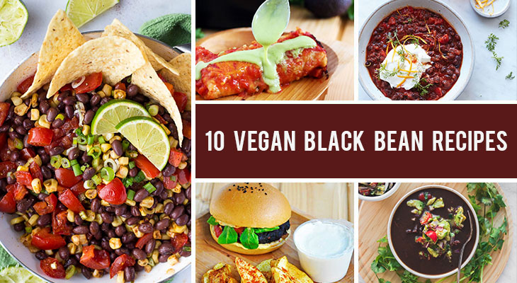 10 Vegan Black Bean Recipes That Are Packed With Proteins