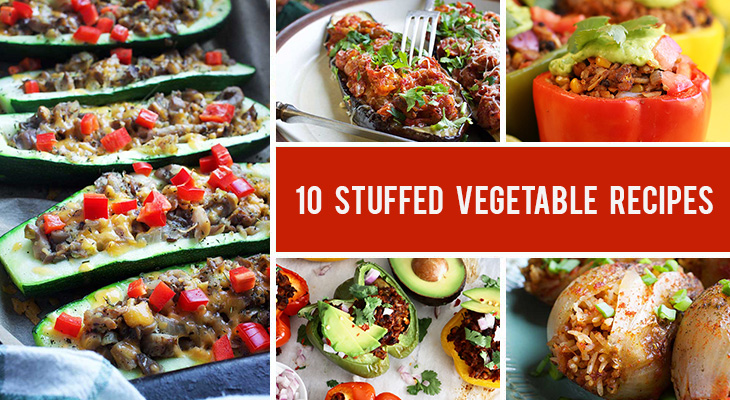 10 Stuffed Vegetable Recipes Everyone Will Love