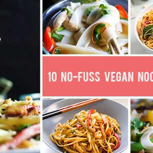 10 No-Fuss Vegan Noodle Recipes For Busy Weeknights