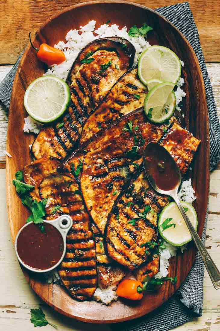 Jamaican Jerk Grilled Eggplant Vegan Grill Recipes