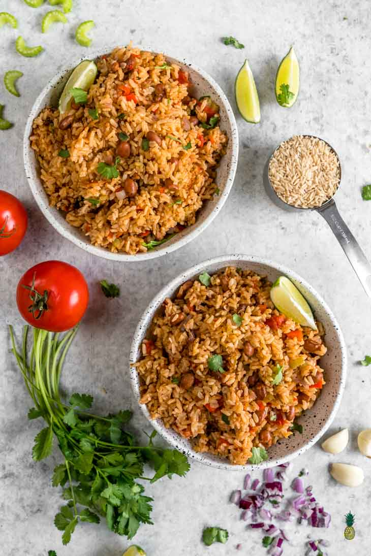 Vegan Spanish Rice and Beans