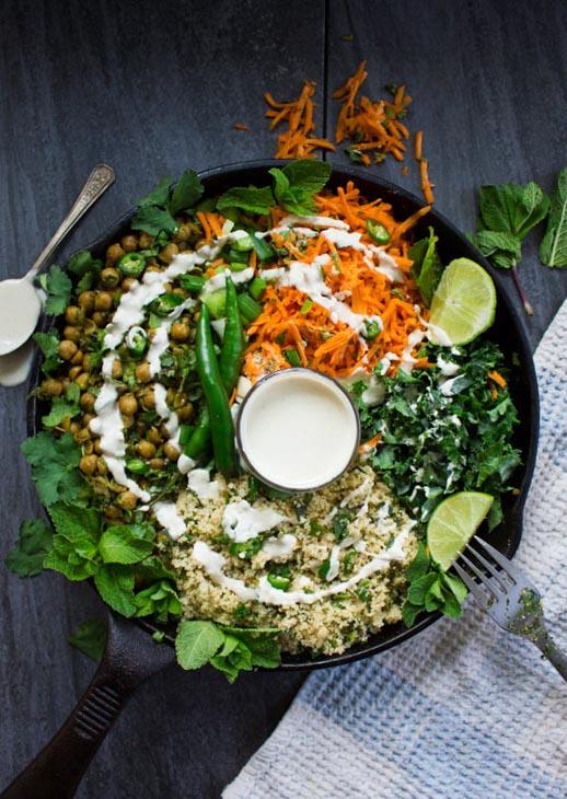 Spicy Vegan Chickpea Moroccan Couscous vegan couscous recipes