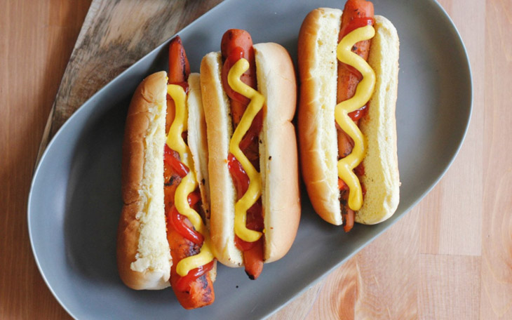 Carrot Hot Dogs 4th Of July Recipe