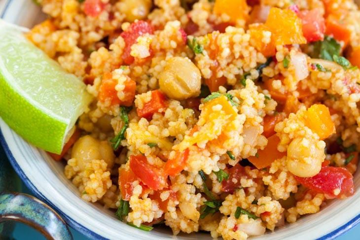 Vegan Couscous Salad with Salsa