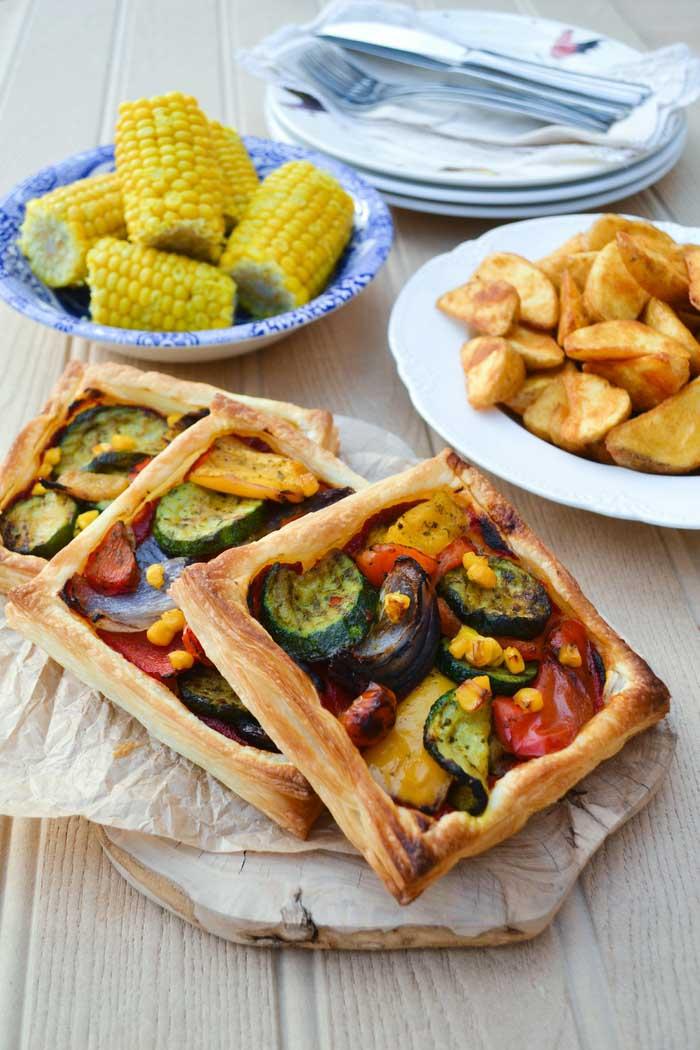 Easy Mediterranean Tart Recipe