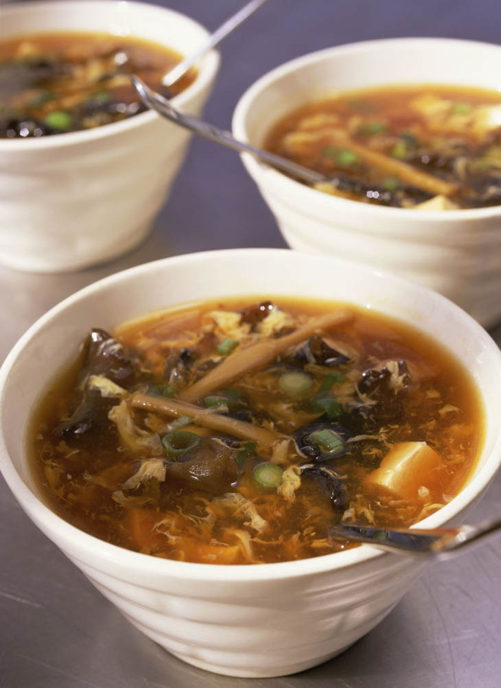 Vegetarian Hot and Sour Soup Asian Soup Recipes