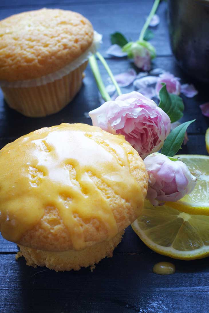 spanish vegan magdalenas lemon muffins
