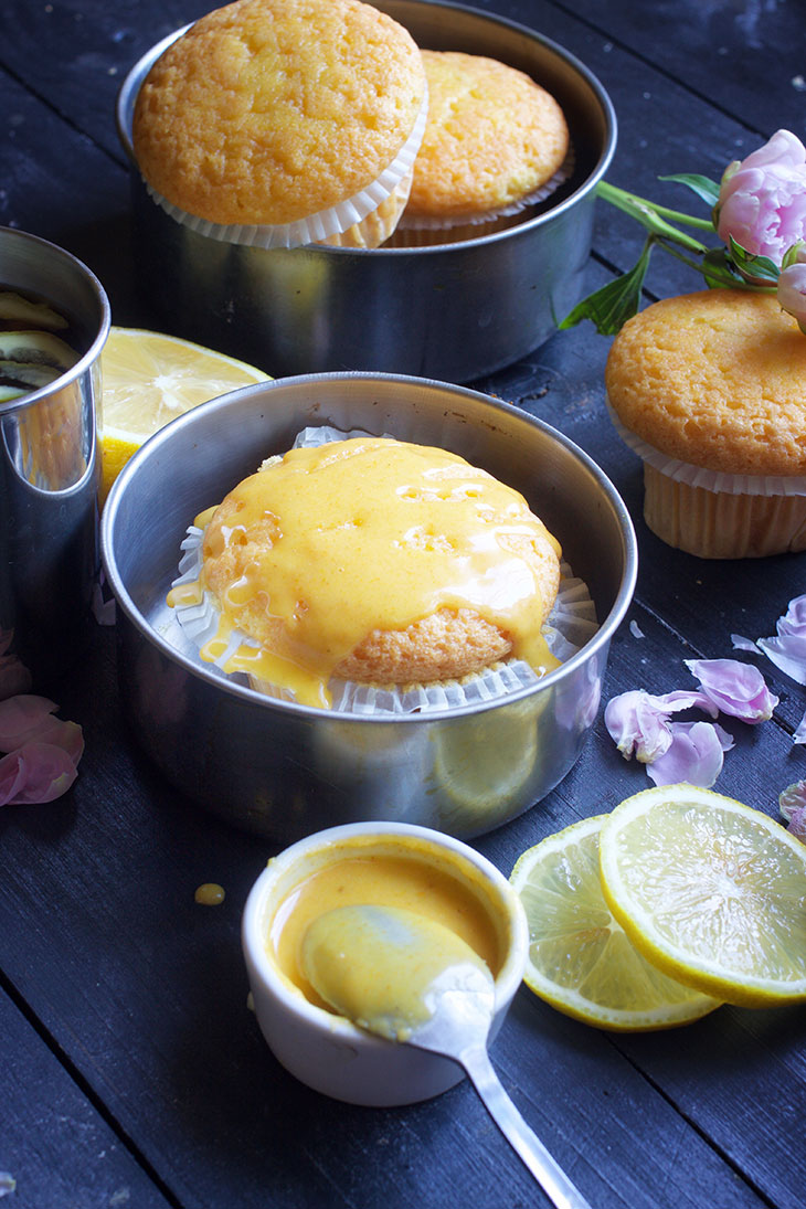 vegan spanish magdalenas vegan lemon muffins