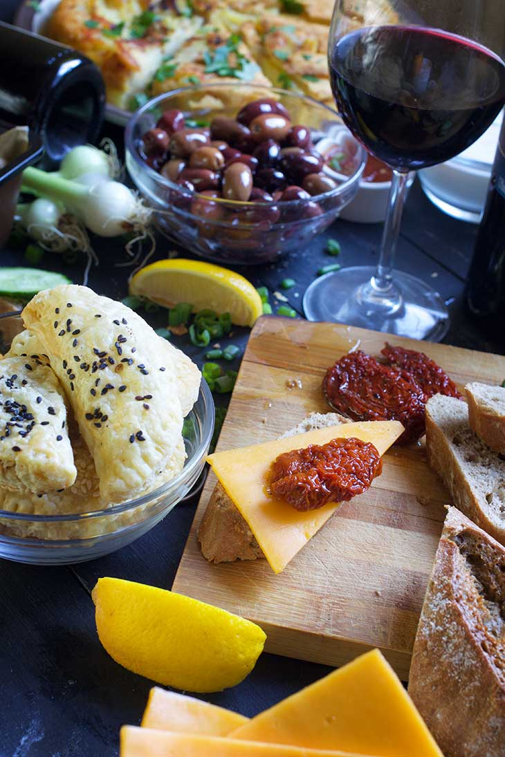 vegan tapas spanish party recipes