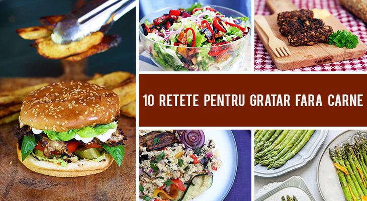 10 Retete pentru gratar fara carne pe care chiar si omnivorii le vor aprecia