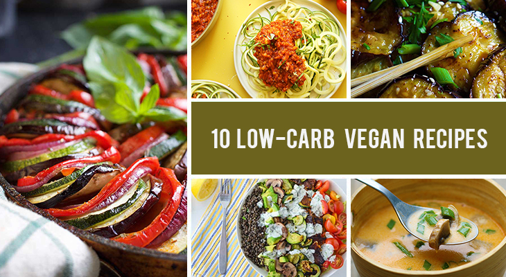 10 Low-Carb Vegan Recipes That Are Filling And Delicious