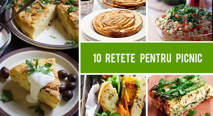 10 retete pentru picnic pe care toata lumea le va indragi