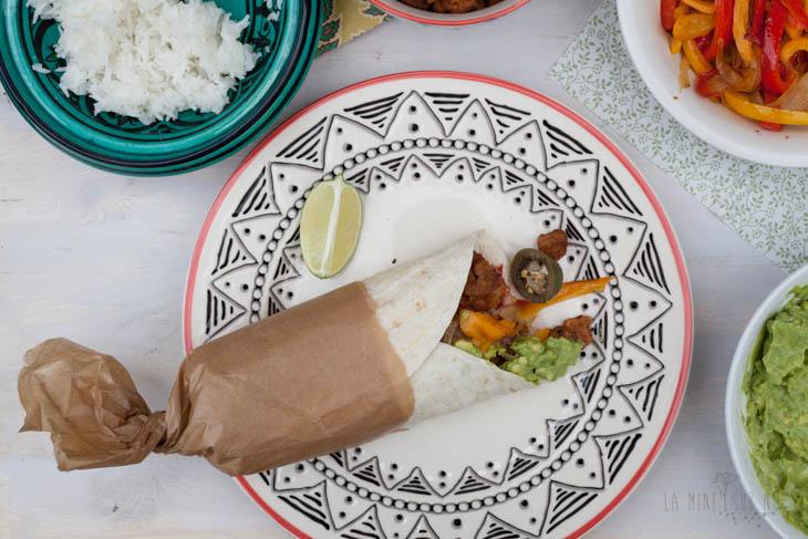 Burrito vegan