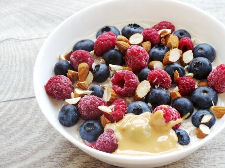 Vegan Overnight Oats For Healthy Heart, Skin and Brain for Weight Loss Meal Prep