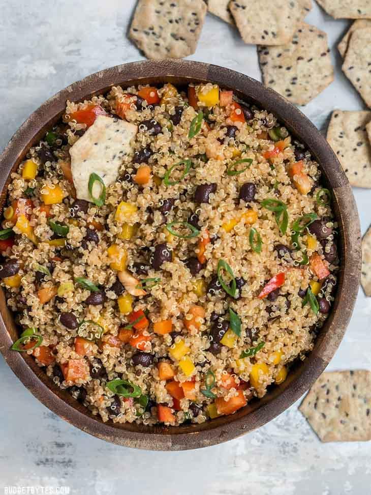 Smoky Quinoa and Black Bean Salad