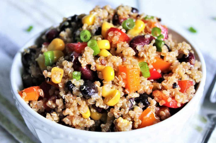 Vegan Bean Salad – Southwest Style for Weight Loss Meal Prep