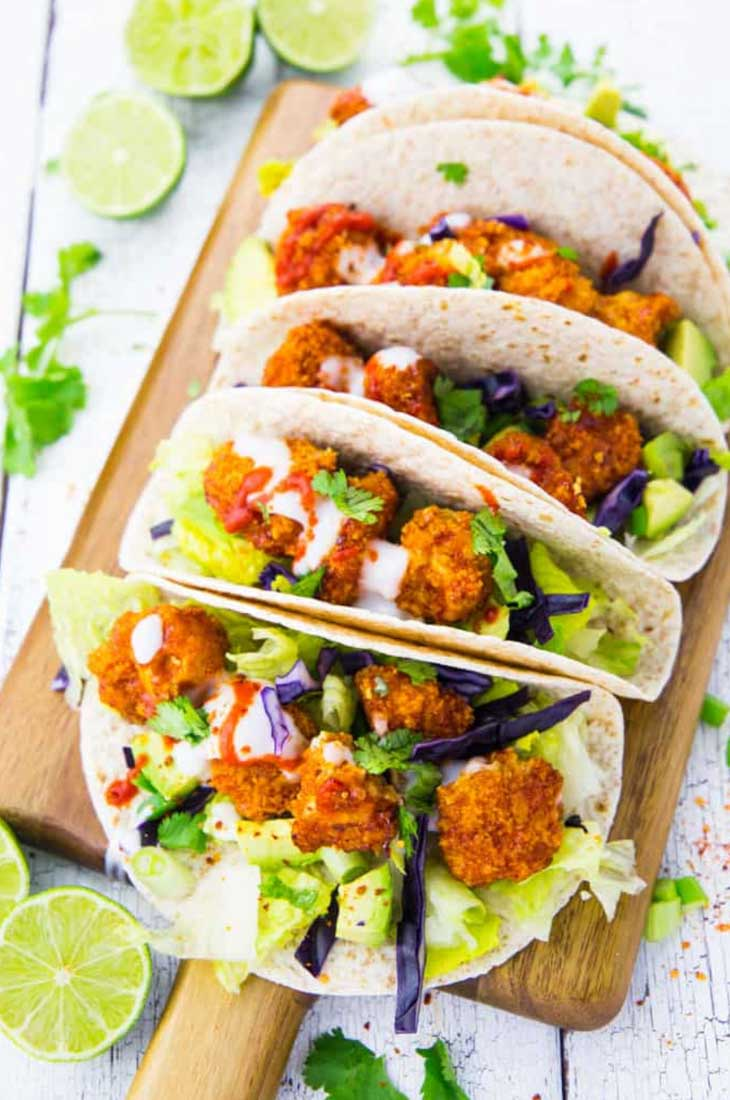 Vegan Cauliflower Tacos