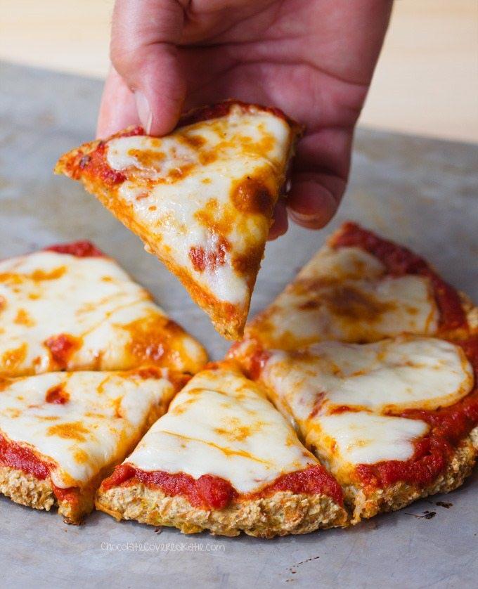 Cauliflower Pizza Crust – Just 5 Ingredients!