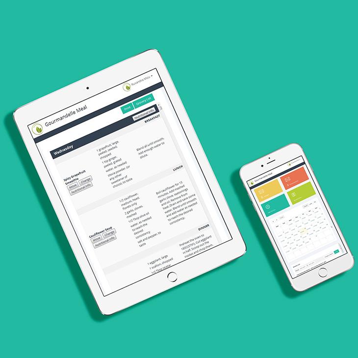 custom meal planner app