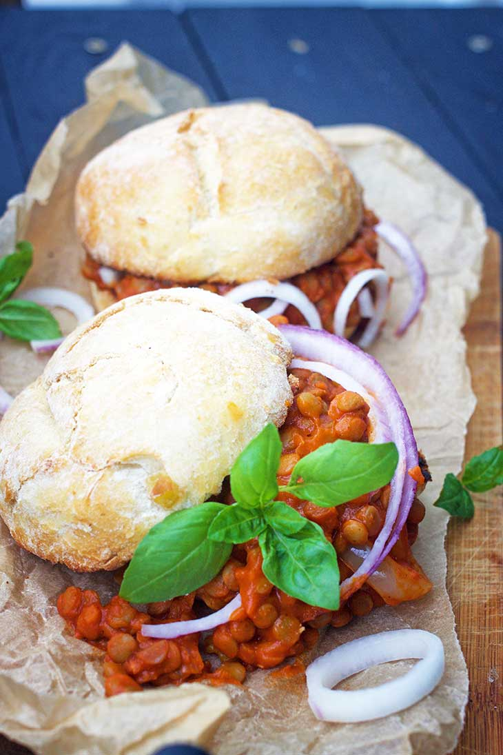 easy healthy vegan sloppy joes