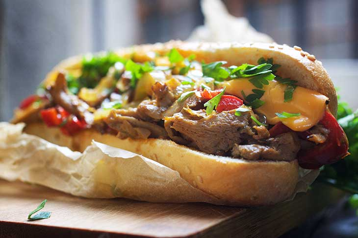 easy vegan phylly cheesesteak recipe