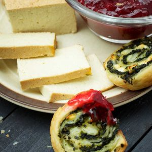 greek Vegan Spinach Pinwheels recipe rulouri cu spanac