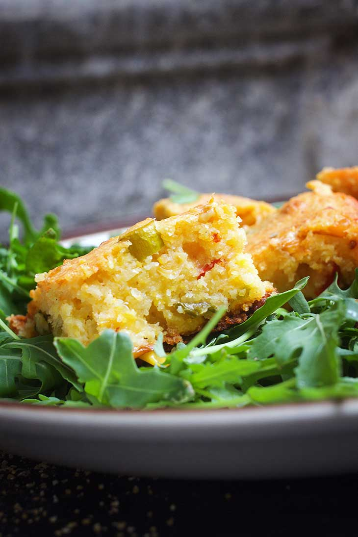 healthy vegan cornbread Vegan Thanksgiving Menu