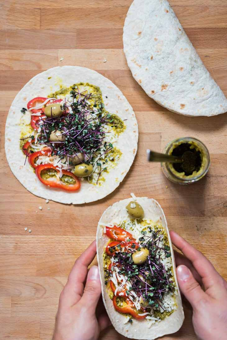 Quesadillas vegetariene: o noua idee de mic dejun rapid