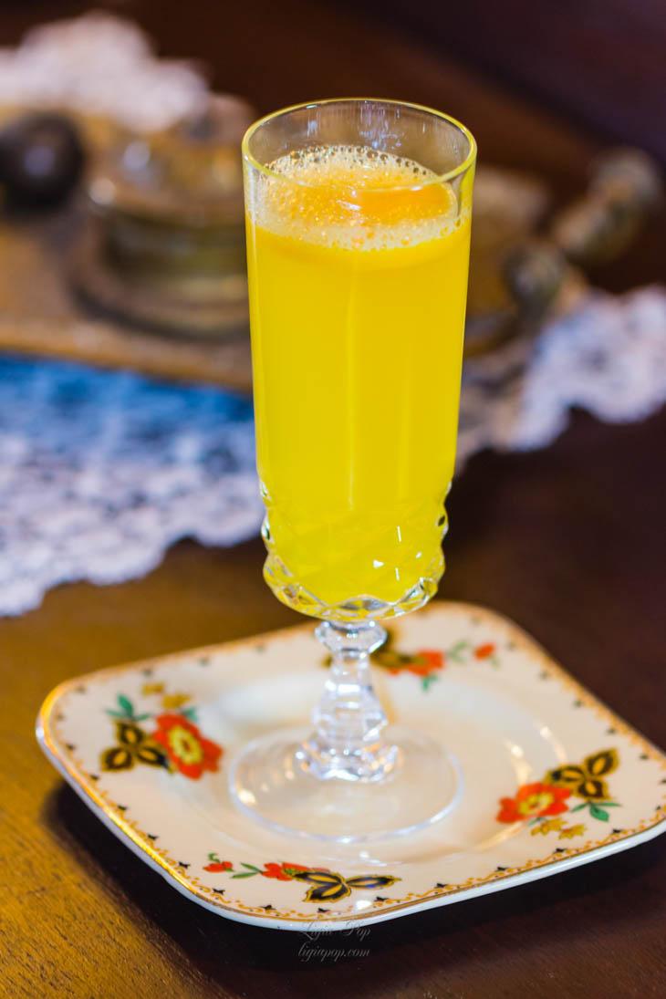 Limonada cu turmericproaspat
