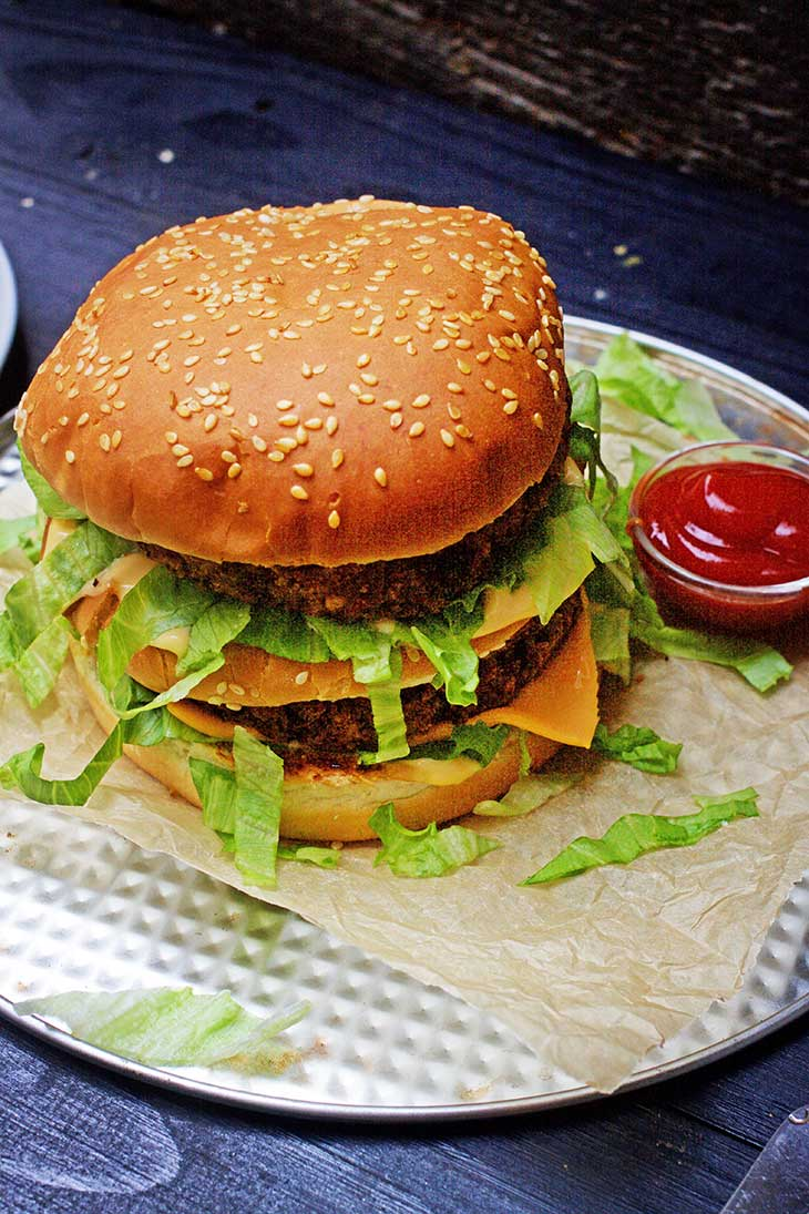 vegan big mac burger recipe
