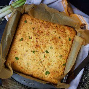 vegan cornbread paine cu malai